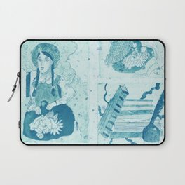 Anne of Green Gables Blue Laptop Sleeve