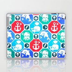 Marine Animals Geometric Pattern Laptop & iPad Skin