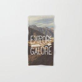 EXPLORE GALORE Hand & Bath Towel