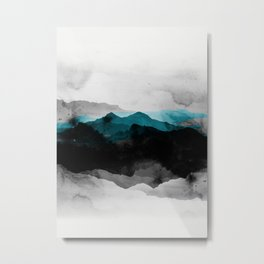 nature montains landscape Metal Print