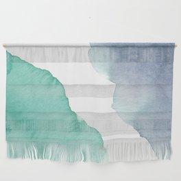 Watercolor Drops Wall Hanging
