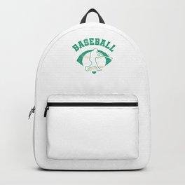 Baseball Pitcher Softball Players Baseball Batter Hitters Baseballer Gift Backpack