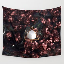 Hexahedron Wall Tapestry