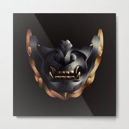 Ghost Mask - GHOST OF TSUSHIMA Metal Print