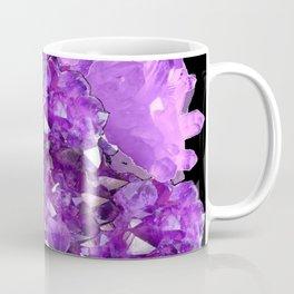 AWESOME PURPLE AMETHYST CRYSTAL CLUSTER Coffee Mug