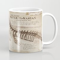 "notebook Mugs featuring Loch Ness Monster: ""The Living Plesiosaurus"" - The lost notebook account by Taylor Morgan"