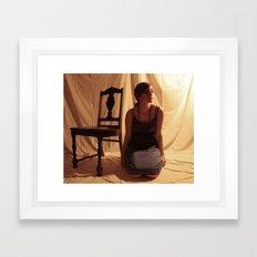 Musical Chair Framed Art Print