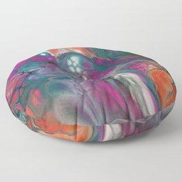 Fluid Color Floor Pillow