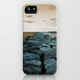Barnegat Light 2 (jetty) iPhone Case