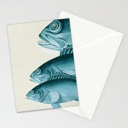 Fish Classic Designs 4 Stationery Cards