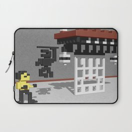 BruceLee Commodore 64 game tribute Laptop Sleeve