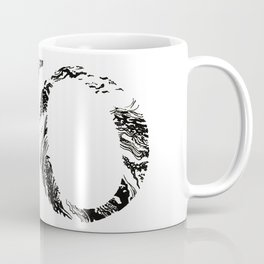 No marbled and fancy Coffee Mug