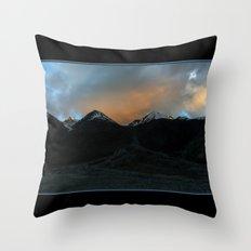 Changthang Sunset Throw Pillow