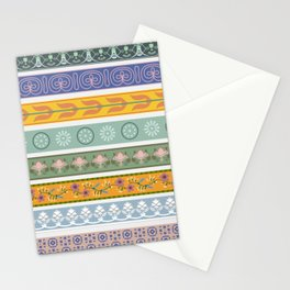 Vintage Ornament Pattern Stationery Cards