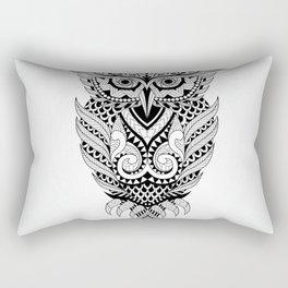 Owl Geometric Design Rectangular Pillow