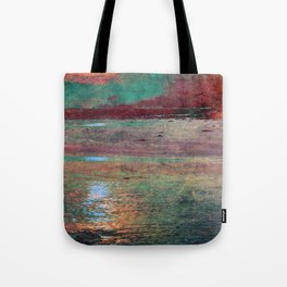 COLORED MORNING SUN Tote Bag