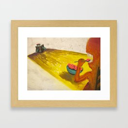 Part of This Complete Breakfast Framed Art Print
