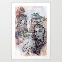 la dispute Art Prints featuring dispute by Andreas Derebucha