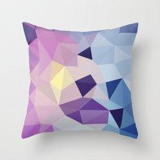 Galactic Tris Throw Pillow
