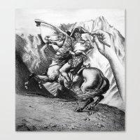 napoleon Canvas Prints featuring Napoleon by JamesLeach