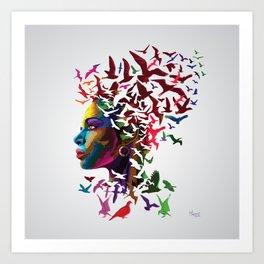 Free Thinker of Today Art Print