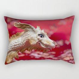 Lucky Dragon Rectangular Pillow