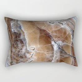 Marble Paint Formation Rectangular Pillow