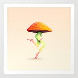 Mush Art Print
