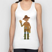 oz Tank Tops featuring OZ - Scarecrow by Drybom