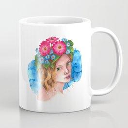 Myosotis - the flower girl Coffee Mug