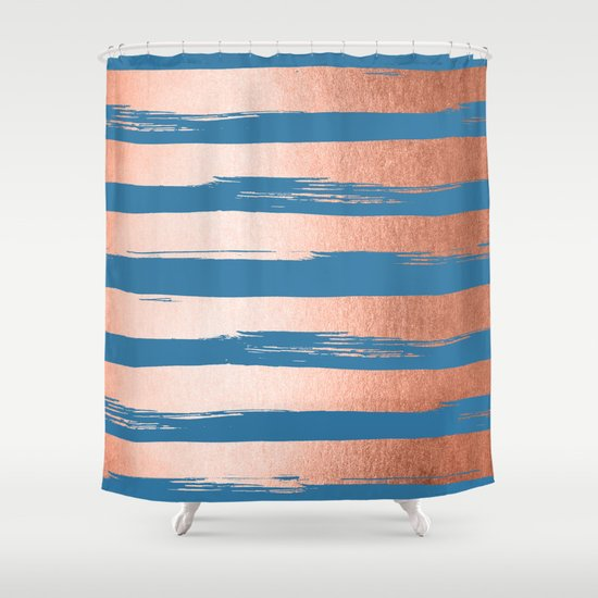 trendy stripes sweet peach coral pink saltwater taffy