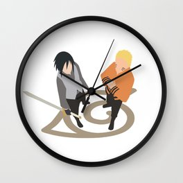 Shinobi Heroes Wall Clock
