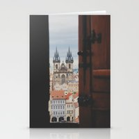 prague Stationery Cards featuring prague by Karen
