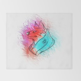 Wolf Kin Throw Blanket