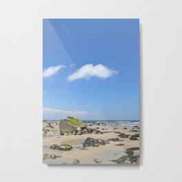 Rocky Coast Beach Metal Print