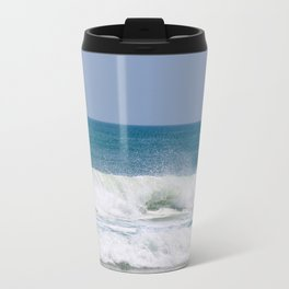 Shaping the Shoreline Metal Travel Mug