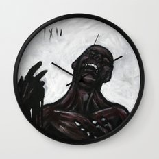 untitled (dead things 05) Wall Clock