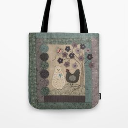 The Cat and The Hen Tote Bag