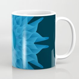 Blue blend flower Coffee Mug