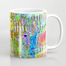 Yellow Lines S41 Coffee Mug