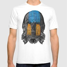 Mummy White Mens Fitted Tee SMALL