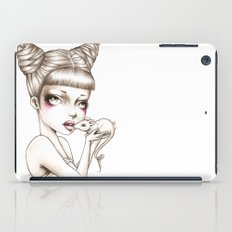 Girl & mouse iPad Case