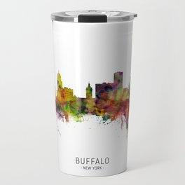 Buffalo New York Skyline Travel Mug