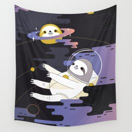 Planet Sloth Wall Tapestry