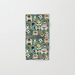 Cats wall of fame Hand & Bath Towel