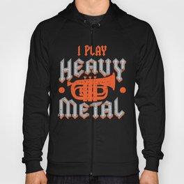 Baritone I Play Heavy Metal Music Lovers graphic Gift Hoody