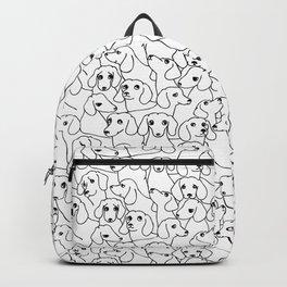 Oh Dachshund Backpack