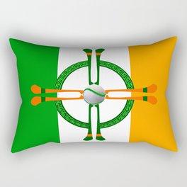 Hurley and Ball Celtic Cross Design Rectangular Pillow