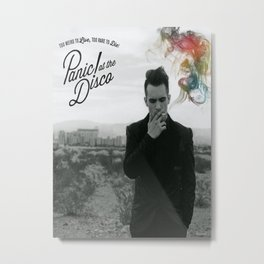 Panic! At The Disco Album Cover Metal Print