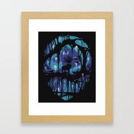 Deer God Framed Art Print